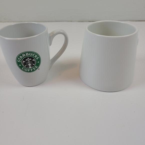 Set of 2 Starbucks coffee mugs cups